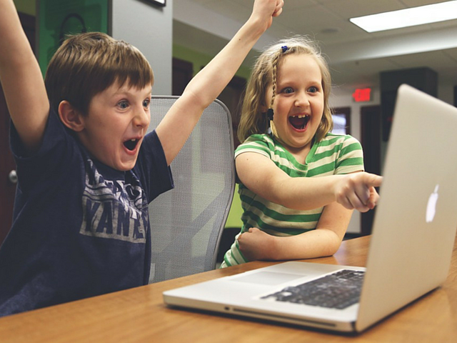 Follow our tips to UX research and you'll look as excited as these two tykes.