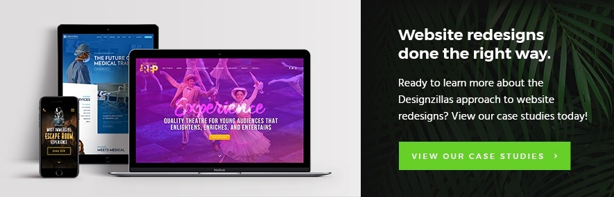 Designzillas Case Studies – Website Redesign Projects